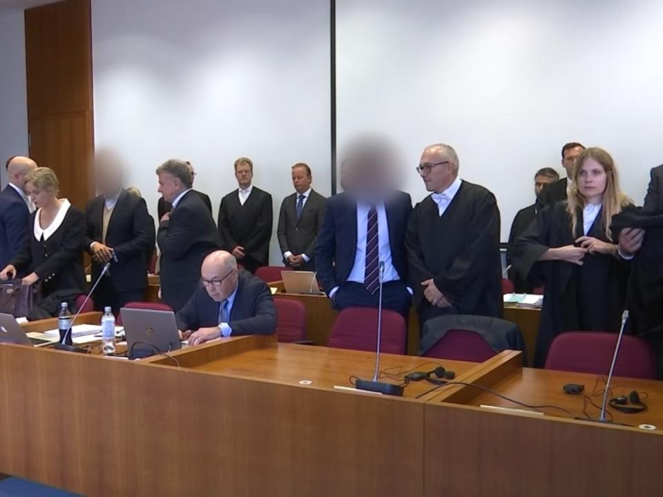 Beteiligte am Cum-Ex Betrug vor Gericht