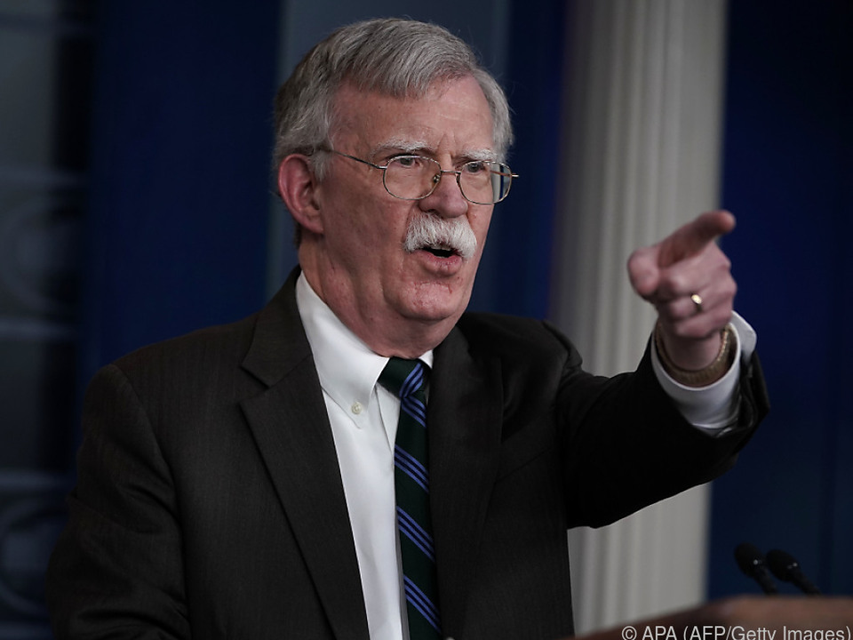 Bolton empfahl stets eine harte Linie gegen Russland