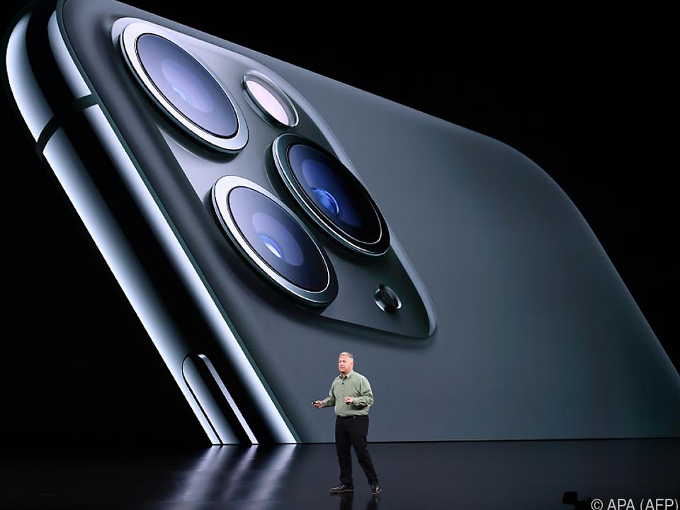 Das neue iPhone ist mit drei Hauptkameras ausgestattet