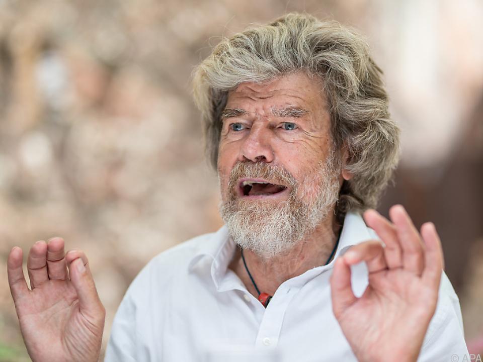 Der Extrembergsteiger Messner lobte die Kondition Merkels