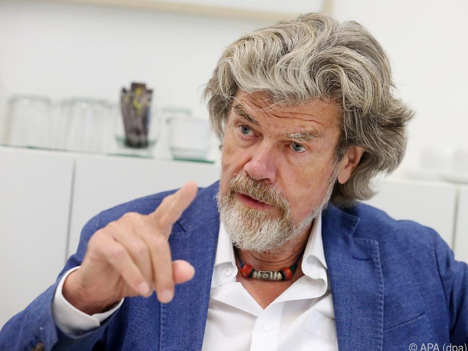 Die Bergsteiger-Legende Messner sieht schwarz für die Welt