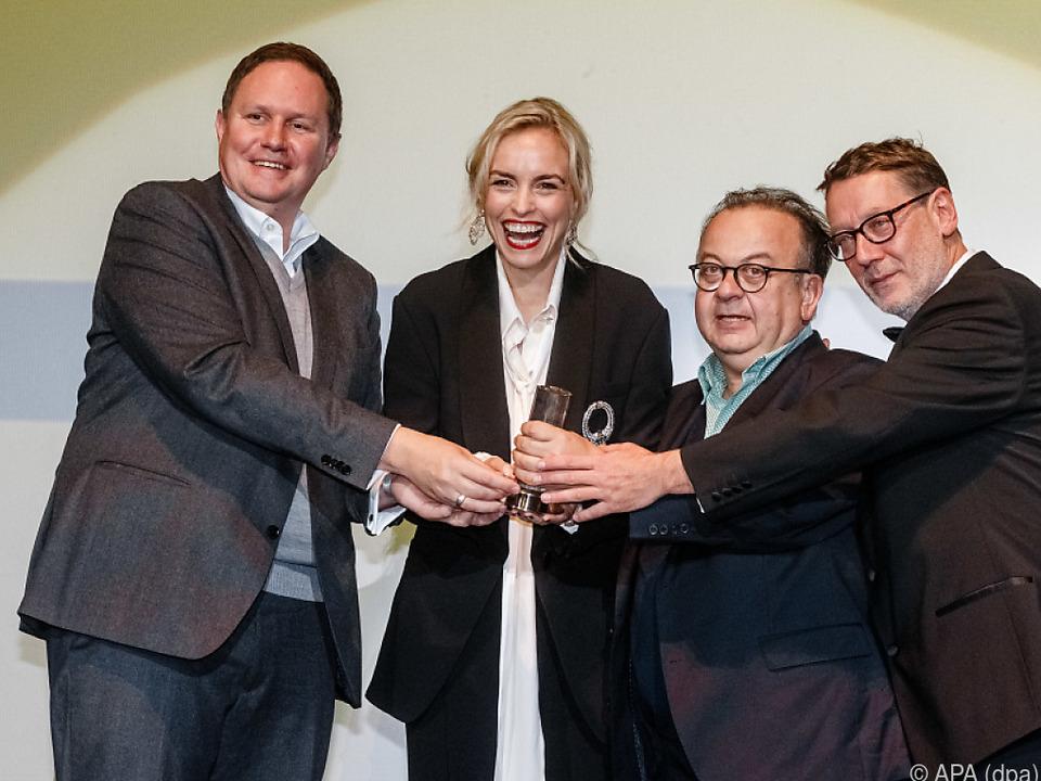 Die Hansestadt Hamburg ehrte die Schauspielerin für ihre Leistungen