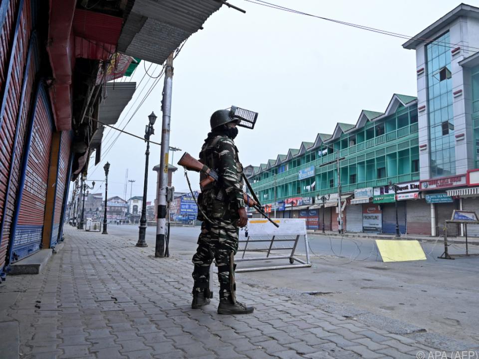 Die Konfliktregion Kaschmir kommt nicht zur Ruhe