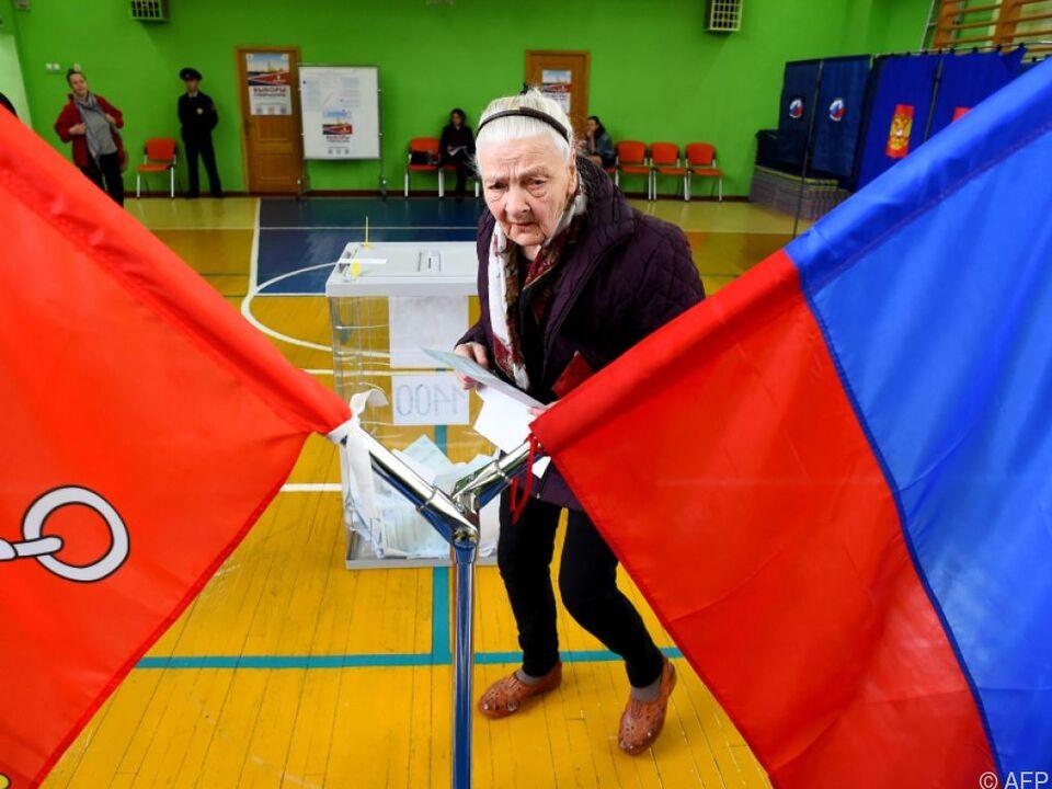 Die Wahlbeteiligung war gering