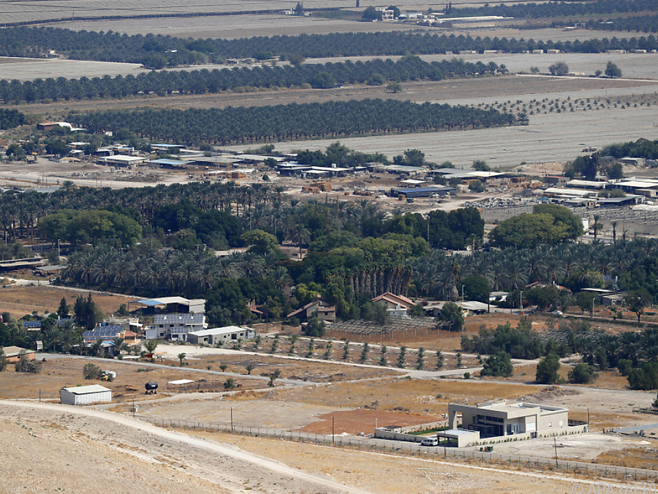 Etwa 5.000 israelische Siedler leben im Jordantal