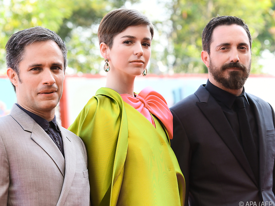 Gael Garcia Bernal, Mariana Di Girolamo und Regisseur Pablo Larrain