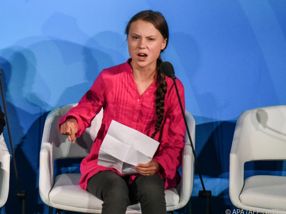 Greta Thunberg ist sauer