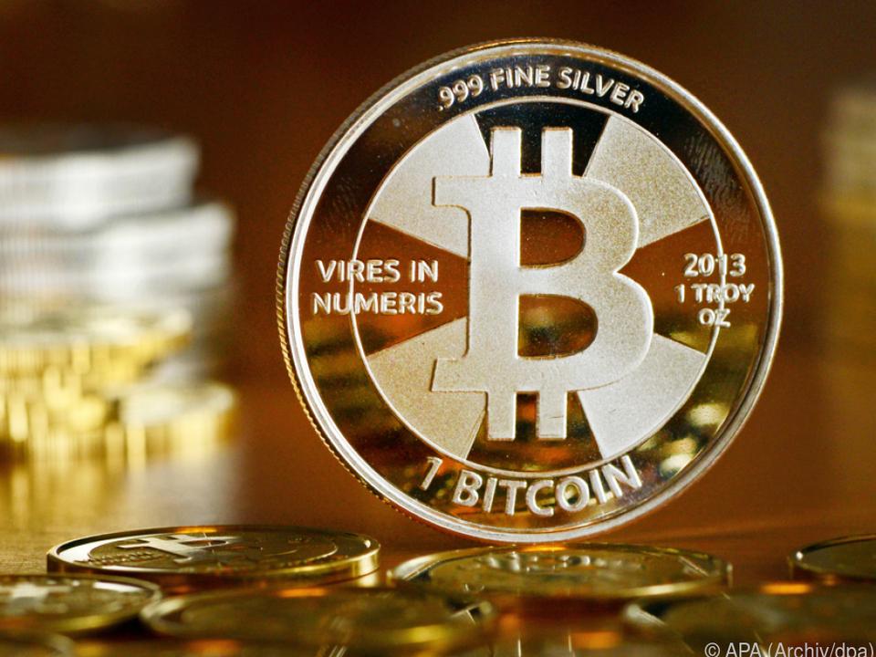 Hoffnung auf gewinnbringende Geldanlage in Bitcoins