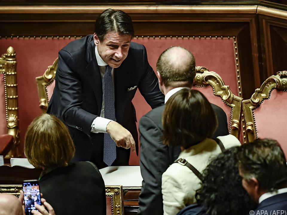 Italiens neue Regierung muss um das Budget kümmern