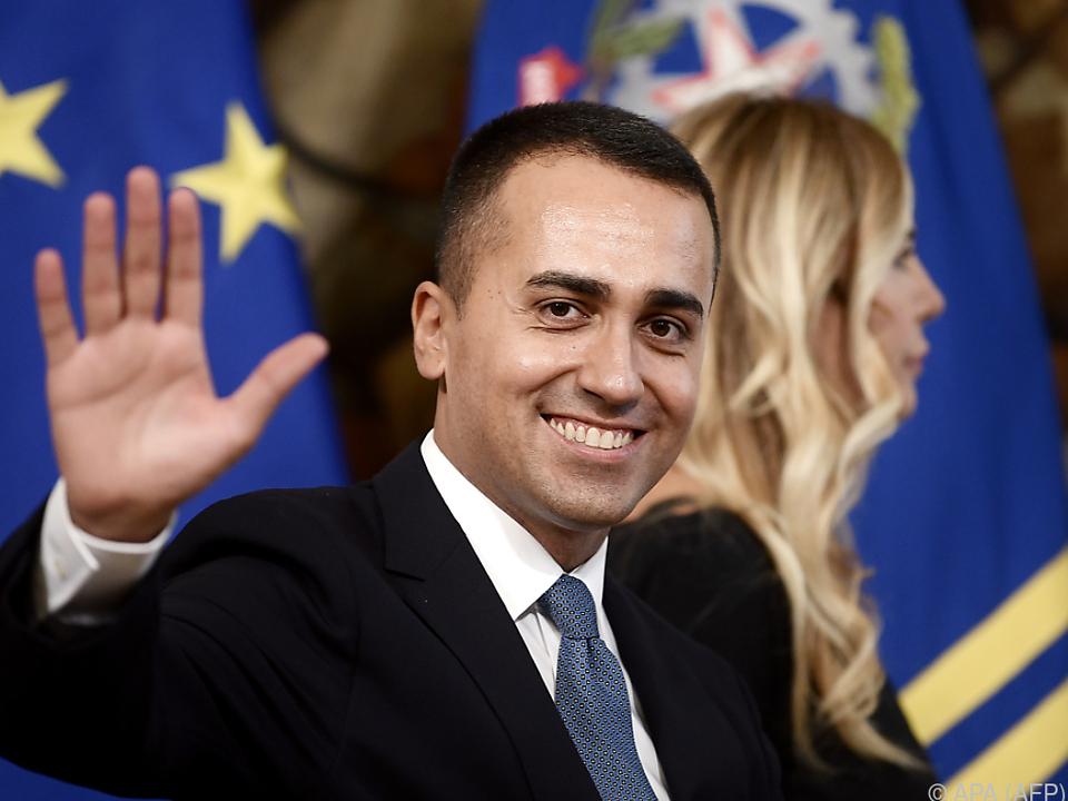 Italiens neuer Außenminister Luigi Di Maio