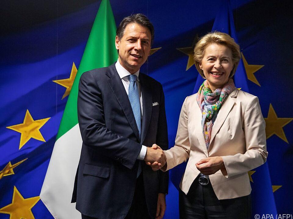 Italiens Regierungschef Conte zu Besuch in Brüssel