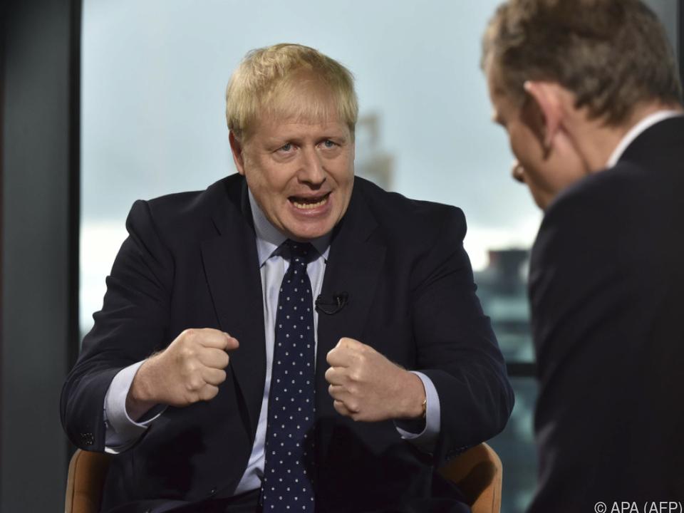 Johnson will im Amt bleiben