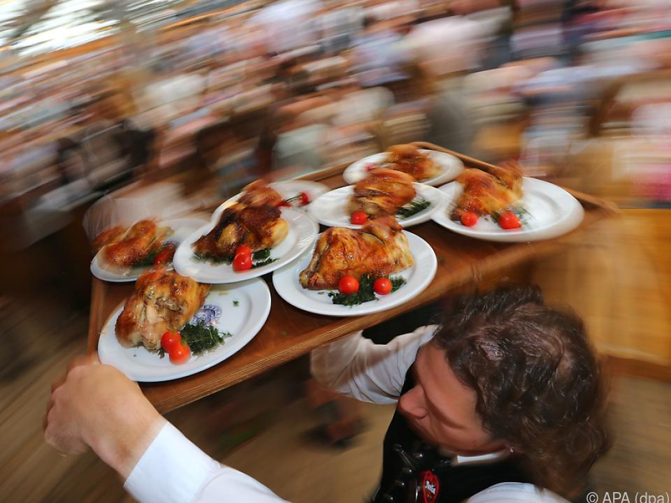 Kellner zählen zu den unzufriedenen Arbeitnehmern