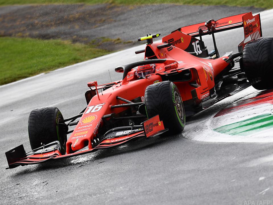 Leclerc derzeit im Aufwind