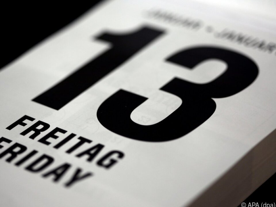 Man muss sich am Freitag, dem 13. nicht fürchten