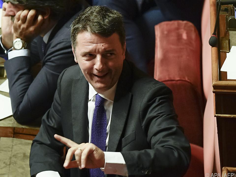 Mit Renzi könnten mehrere PD-Schwergewichte die Partei verlassen
