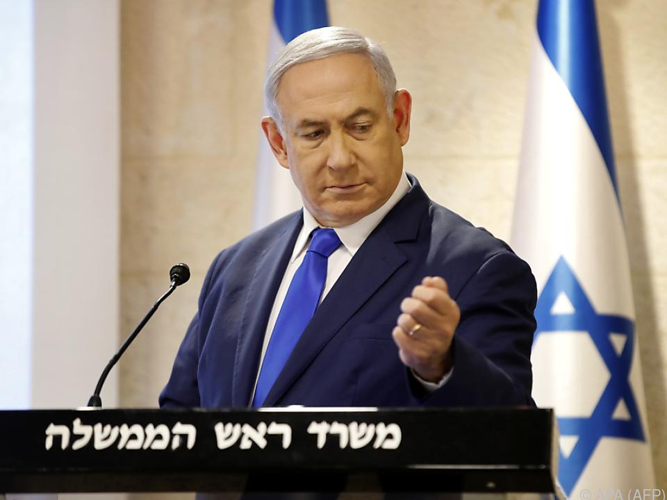 Netanyahu gibt schwer einzuhaltende Wahlversprechen