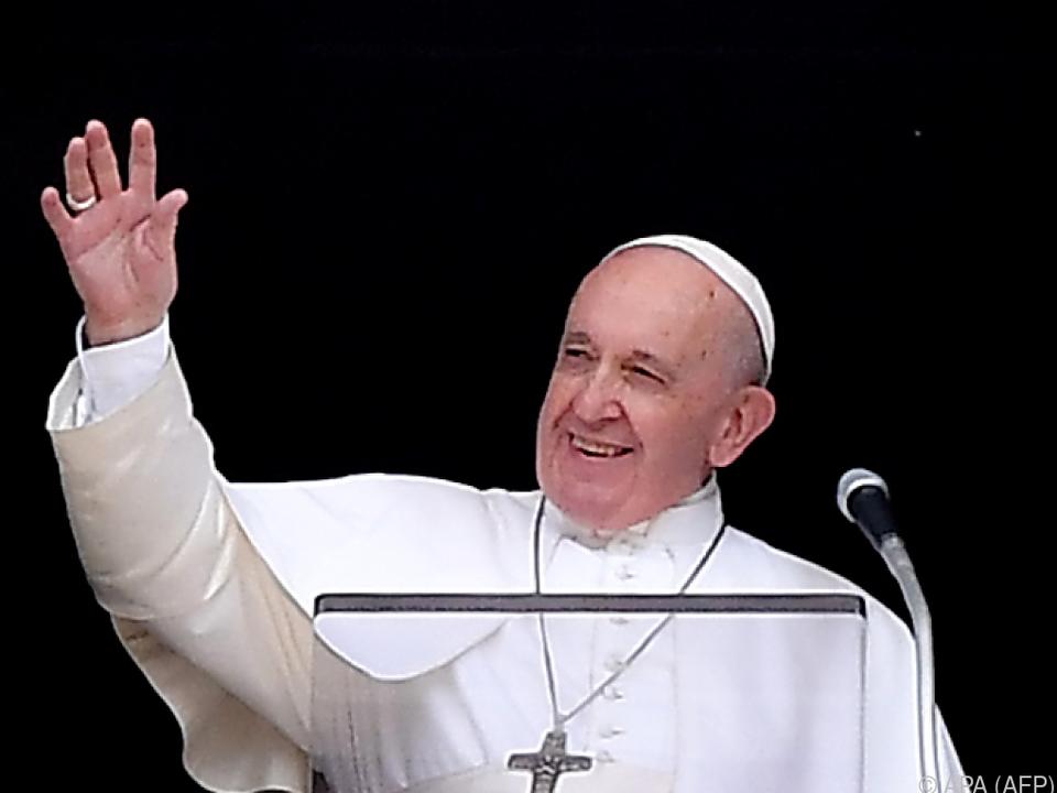 Papst Franziskus fordert Maßnahmen für den Klimaschutz