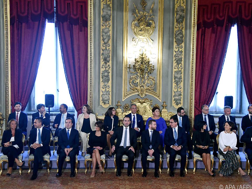 Präsident Mattarella vereidigte die 66. Regierung