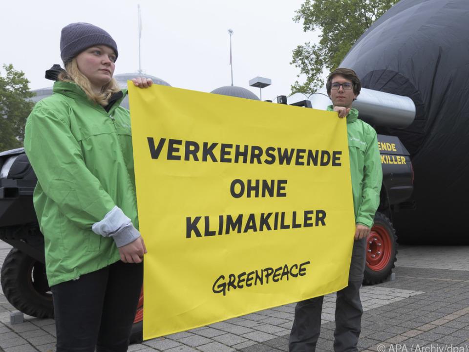 Proteste von Greenpeace