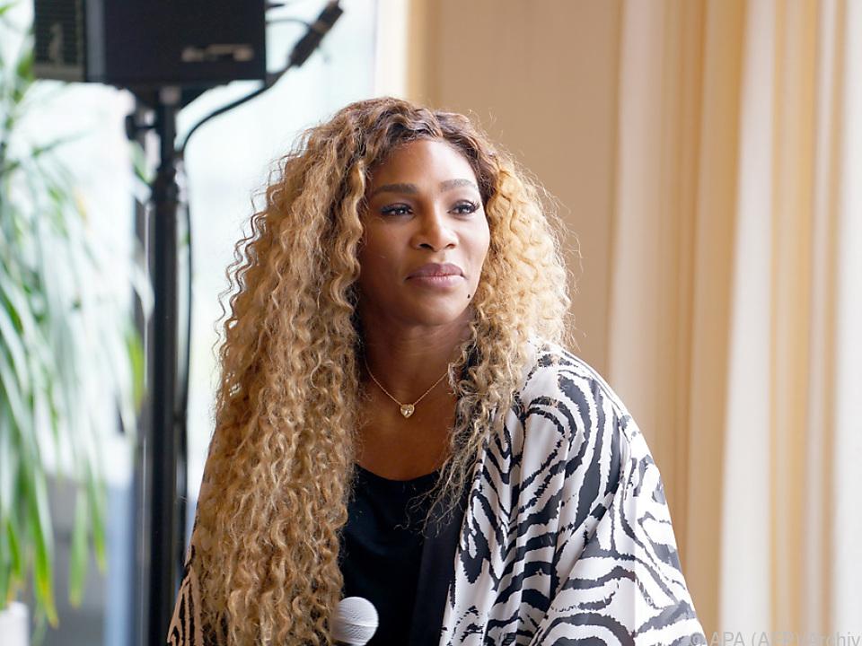 Serena Williams präsentiert ihre eigene Modelinie