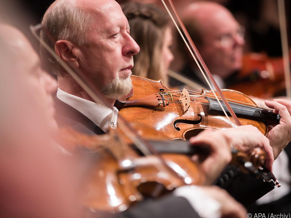 Wiener Philharmoniker seit 2001 beim Festival
