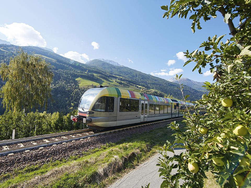 Vinschger Bahn fährt wieder auf ganzer Linie. (
