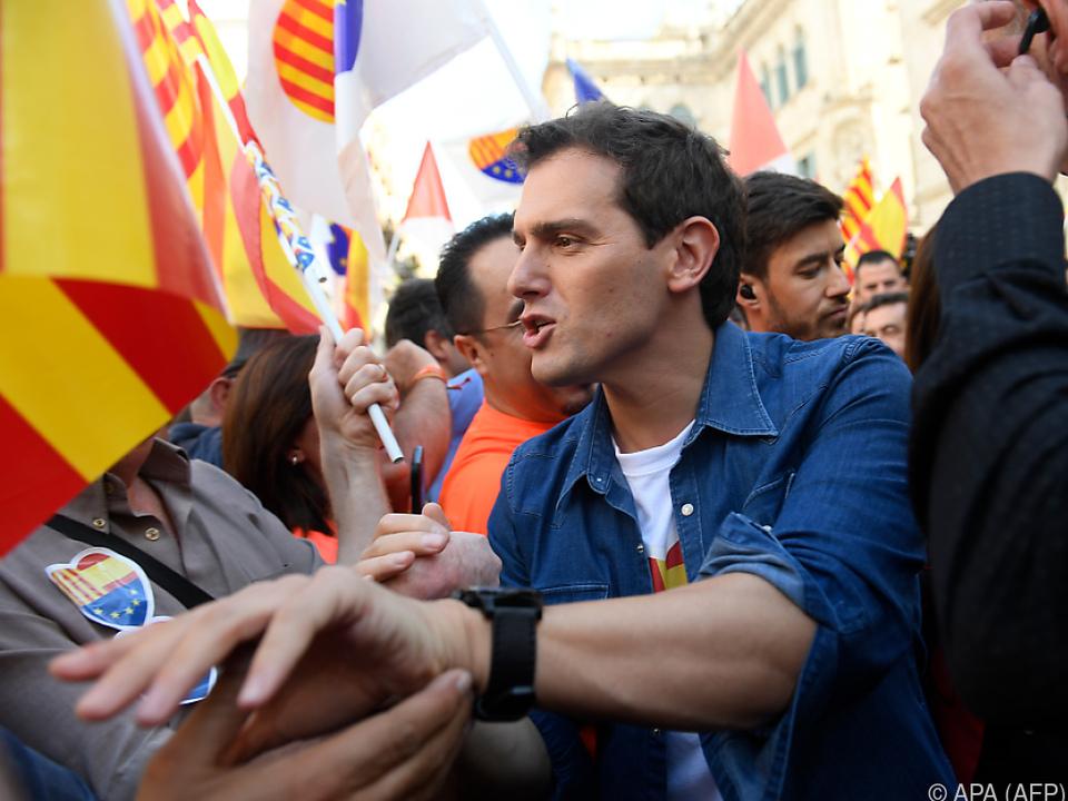 Albert Rivera von der Ciudadanos-Partei