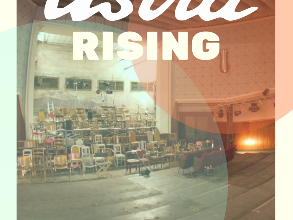 Astra Rising Flyer front