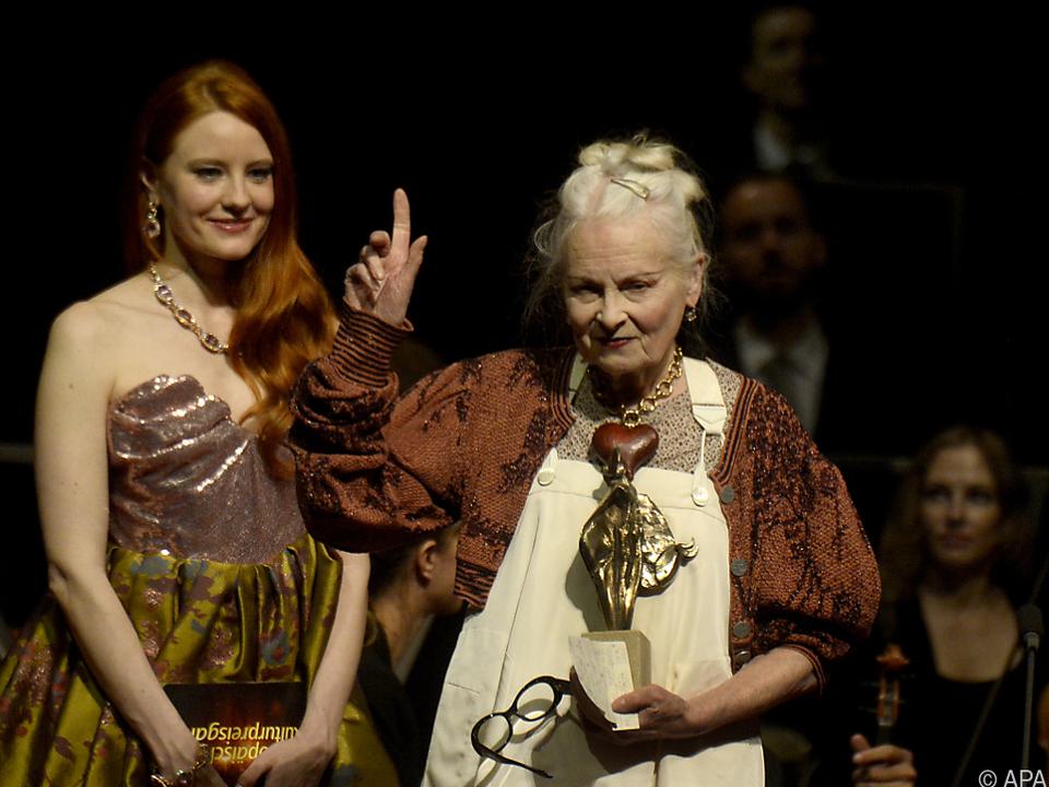 Auch Viviane Westwood wurde ausgezeichnet