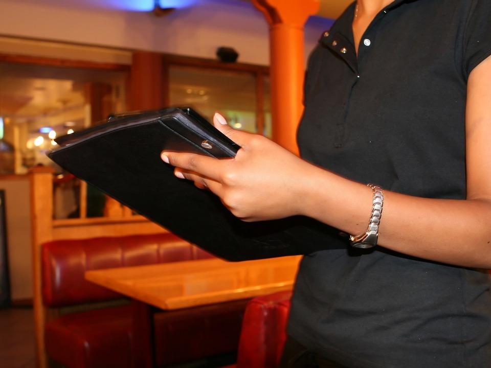 Bar Kellnerin Baristin