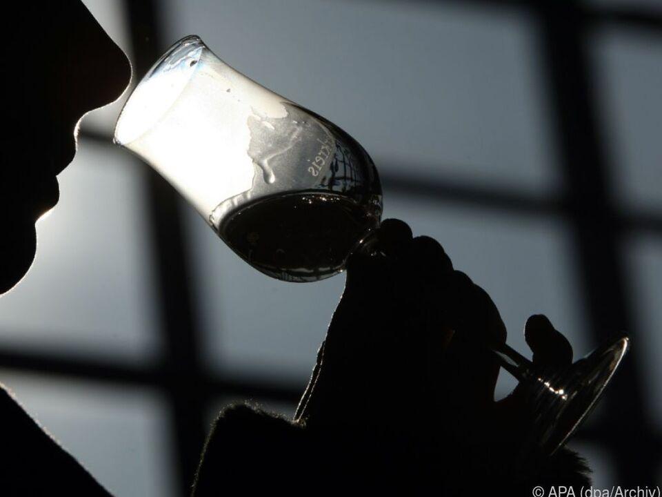 Der Reiniger befand sich in einer nicht gekennzeichneten Glasflasche