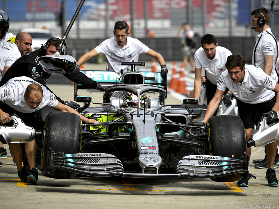 Der Titel für Mercedes liegt bereit