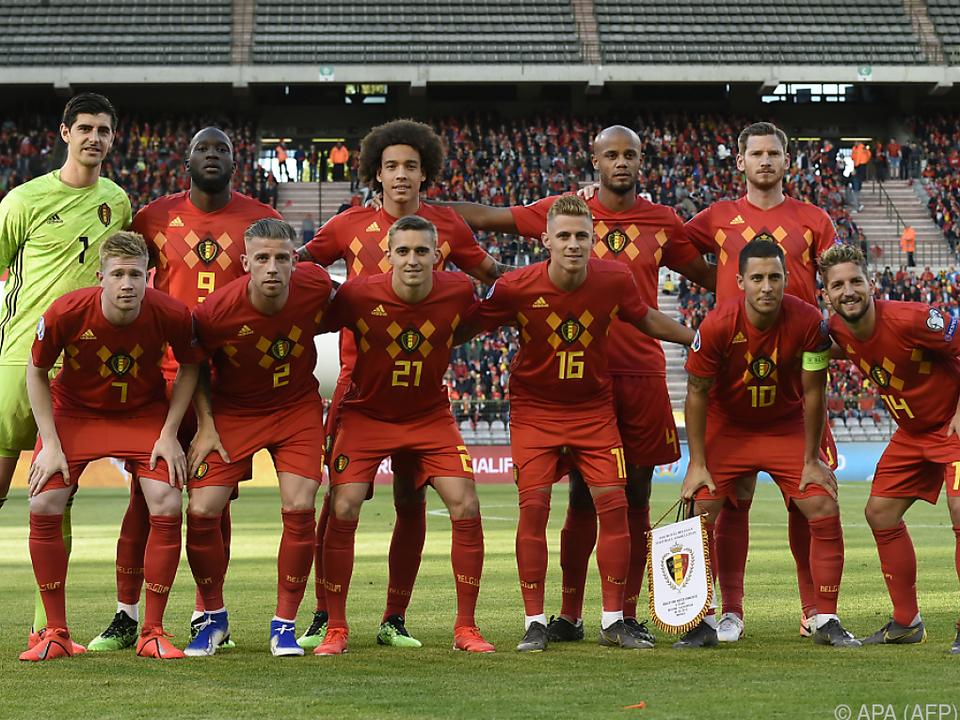 Die Belgier spielten bis jetzt makellos