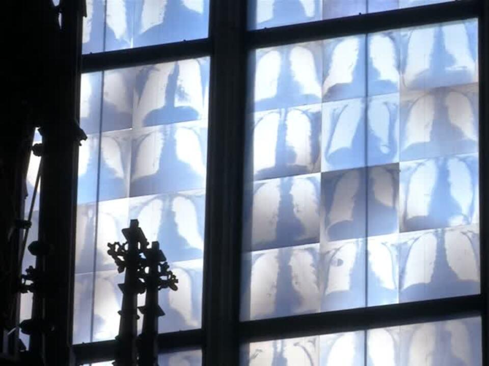 Die Lunge im Kirchenfenster