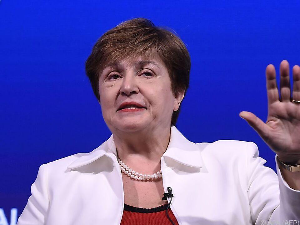 Die neue IWF-Chefin Kristalina Georgieva