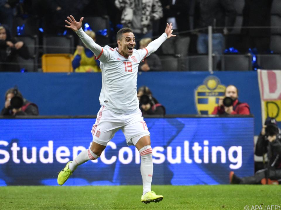 Ein Tor in der Nachspielzeit zum 1:1 reichte fürs spanische EM-Ticket