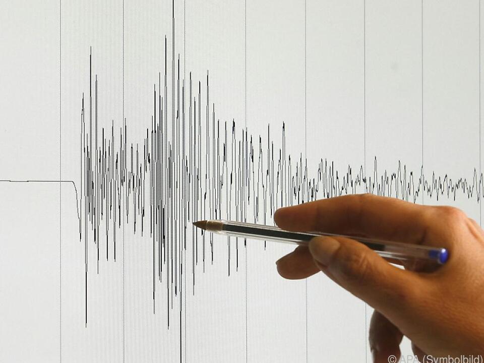 Erdstöße erreichten eine Magnitude von 3,1 nach Richter