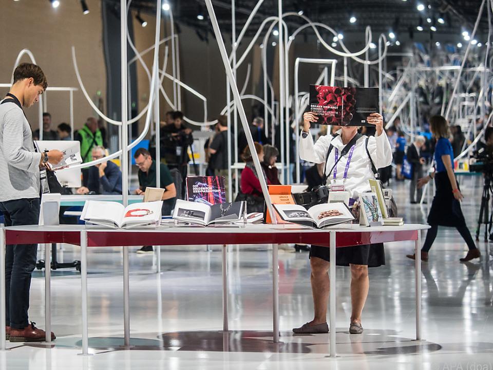 Großer Andrang bei der Frankfurter Buchmesse
