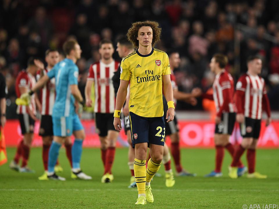 Hängende Köpfe bei den Arsenal-Stars