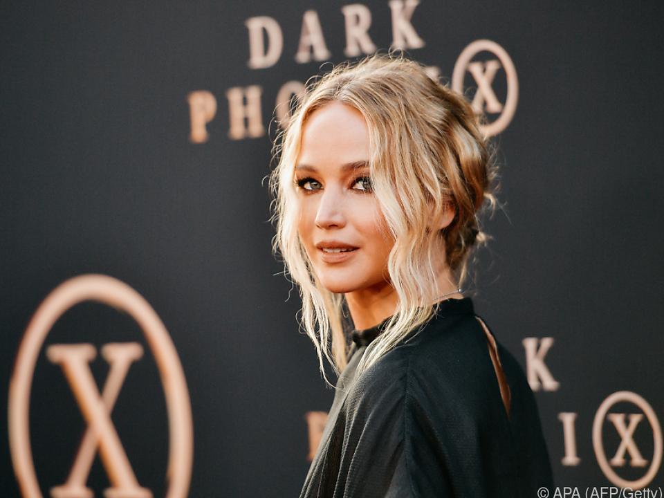 Jennifer Lawrence hat sich getraut