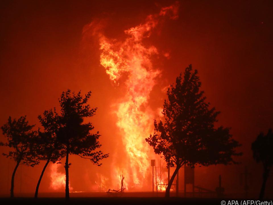 Massive Waldbrände in Kalifornien
