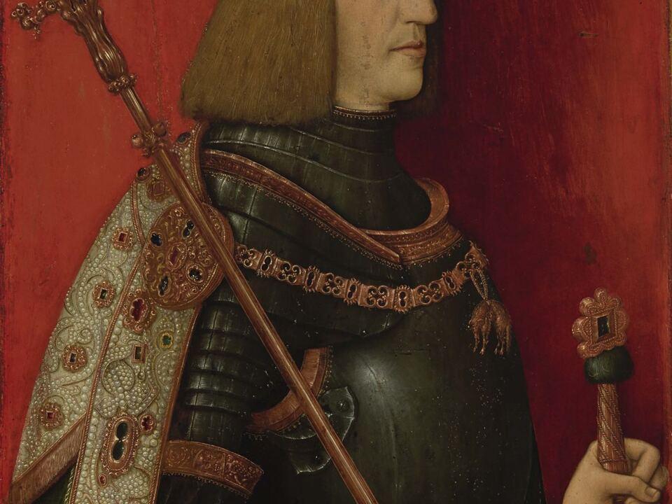 Maximilian I. im Kaiserornat_Tiroler Landesmuseum Ferdinandeum Innsbruck