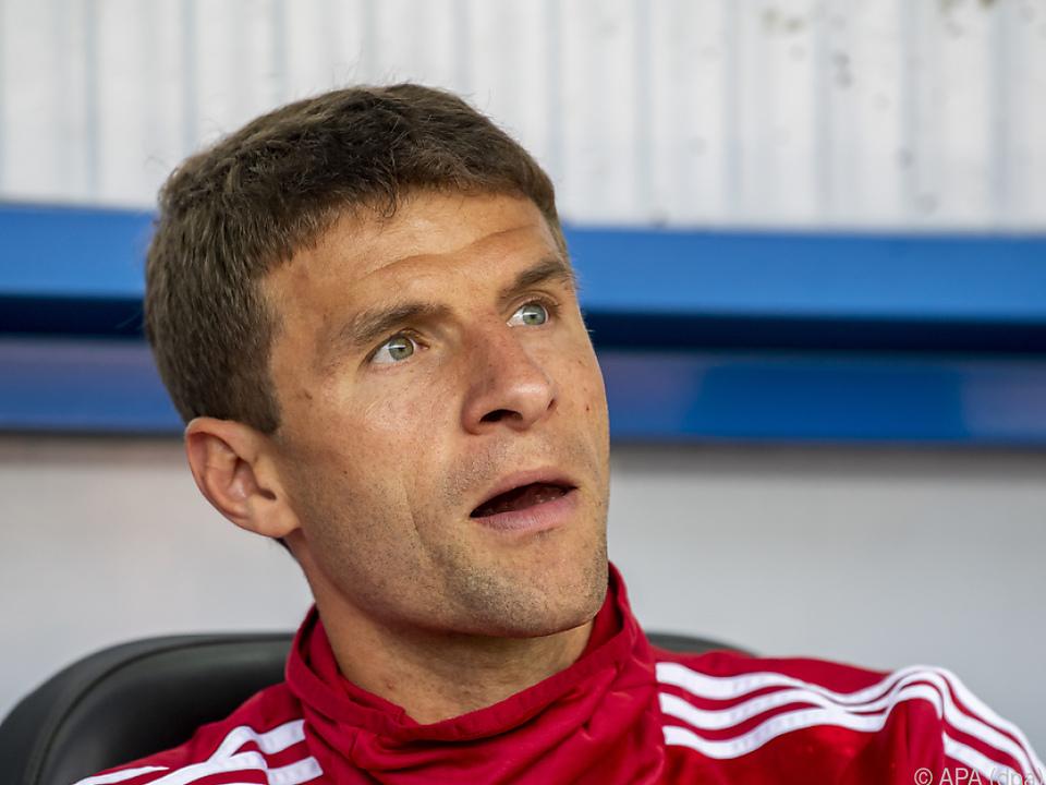 Müller ist beim FC Bayern nicht mehr zufrieden