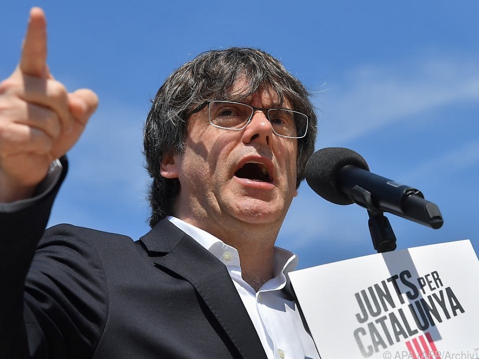 Puigdemont lebt im Exil in Brüssel