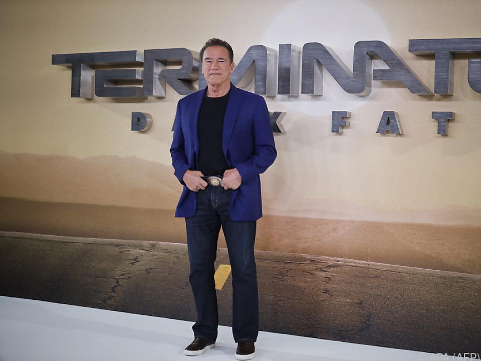 Schwarzenegger ist wieder in den Kinos zu sehen