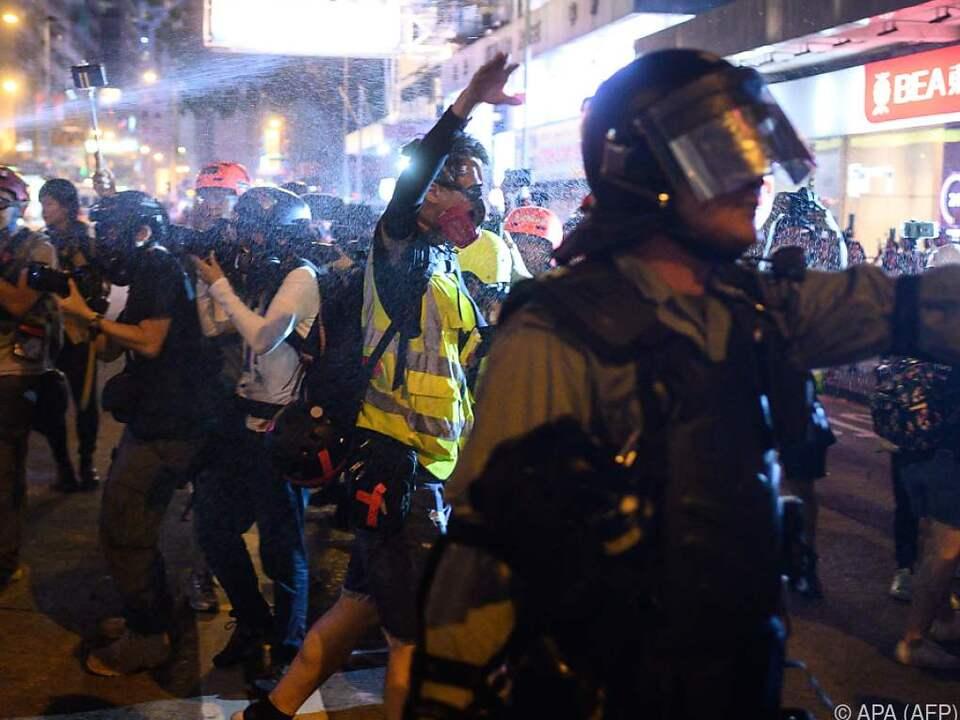 Seit Monaten demonstrieren die Menschen gegen die Führung in Peking