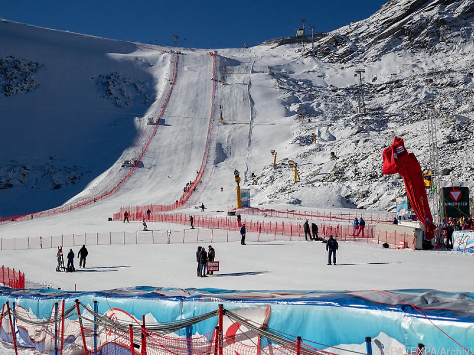 Sölden ist wieder bereit für den Ski-Weltcupzirkus