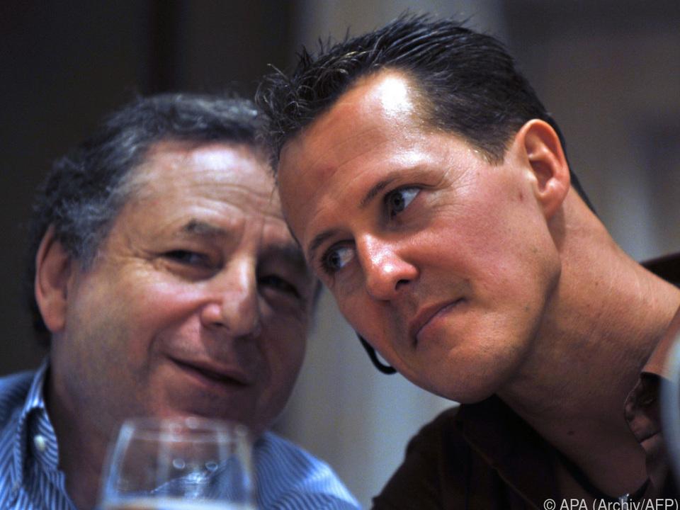 Formel 1 Todt hofft auf Schumacher-Besuch bei Formel-1-Rennen