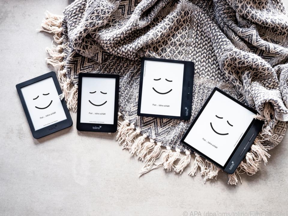Tolino-Familienfoto: Das sind die vier neuen E-Book-Reader